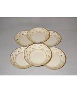 Syracuse China Suzanne Federal Shape Fruit Dessert Bowls ~ Set of 6  - $33.00