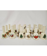 ORIGINAL Vintage Lot of (20) Ceramic Christmas Bells 1975-1985  - $186.64