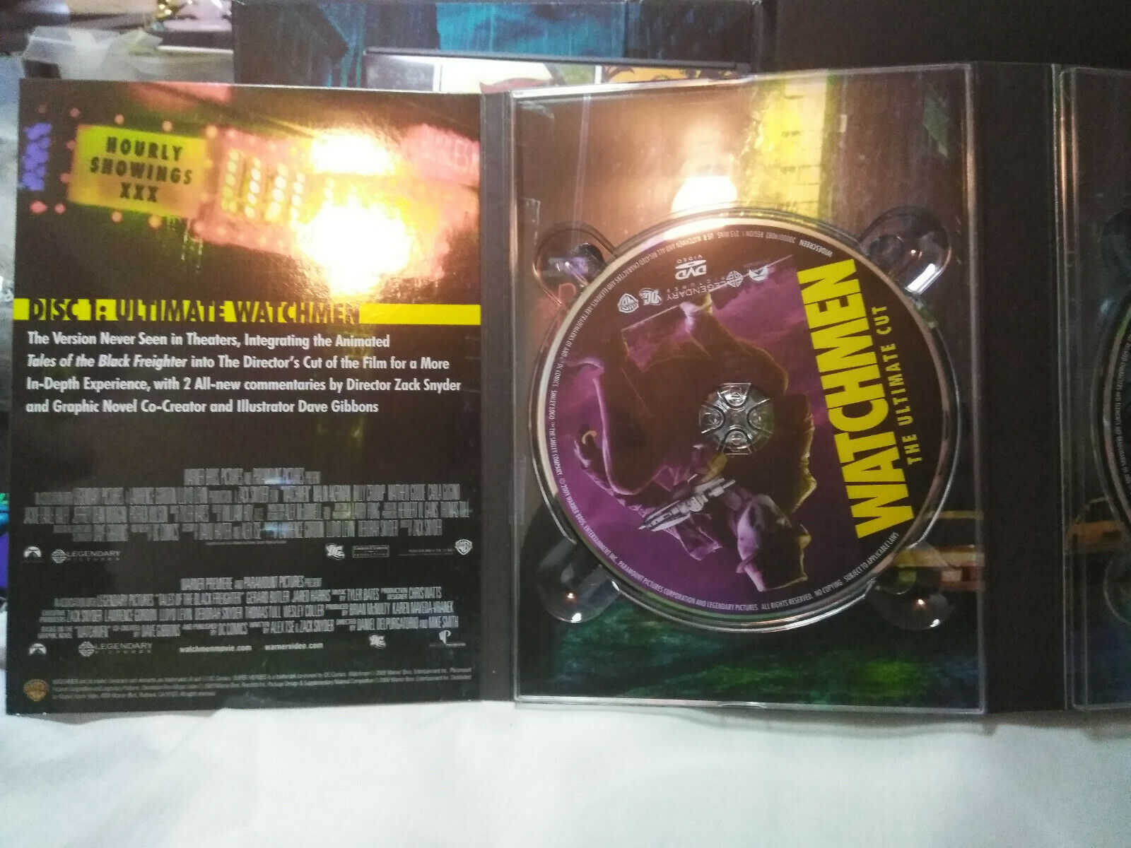 Watchmen--The ultimate cut The Complete Story 5 Discs image 5