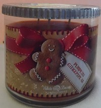 Bath & Body Works Pumpkin Gingerbread Candle 14.5 Ounce 3 Wick 2014 Edit... - $50.00