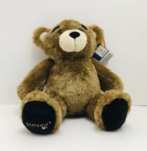 "Build A Bear Bearemy  Brown Teddy Bear Plush Stuffed Animal Toy 16"" Retired - $25.74"