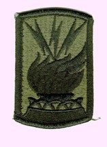 187th Signal Brigade Patch Subdued ARMY:MD10-1 - $3.85