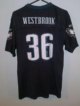 REEBOK PHILADELPHIA EAGLES BRIAN WESTBROOK NFL Football Jersey Youth SZ XL - $19.79