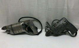 """Vintage Home Utility Black & Decker 3/8"""" Electric Drill + 2nd Vintage Drill - $51.23"""