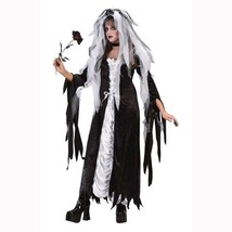 Bride of Darkness Gothic Gown Halloween Costume Adult Size Small-Medium ... - $27.67