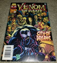 Marvel Comics Venom hunger 1 8/96 Rare low print Newsstand Variant book ... - $3.99