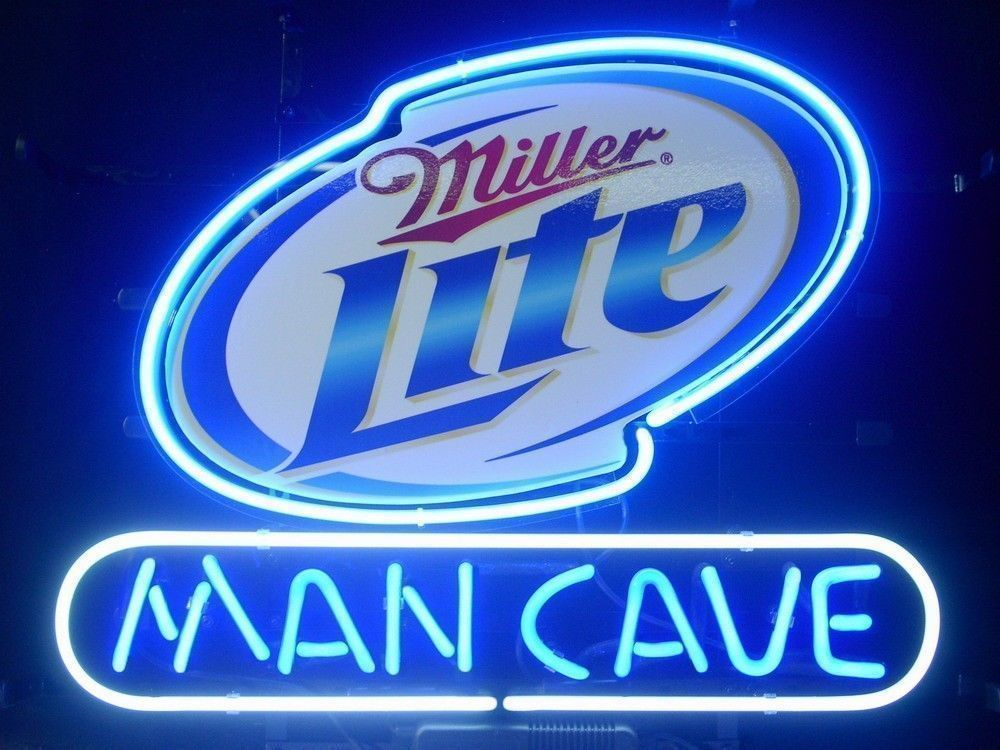 "New Miller Light High Life Man Cave Beer Lager Neon Light Sign 17""x14"""