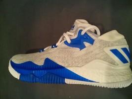 Adidas Crazylight Boost Low J White/C Blue/Onix ( B42601 ) SZ-5.5 - $55.00