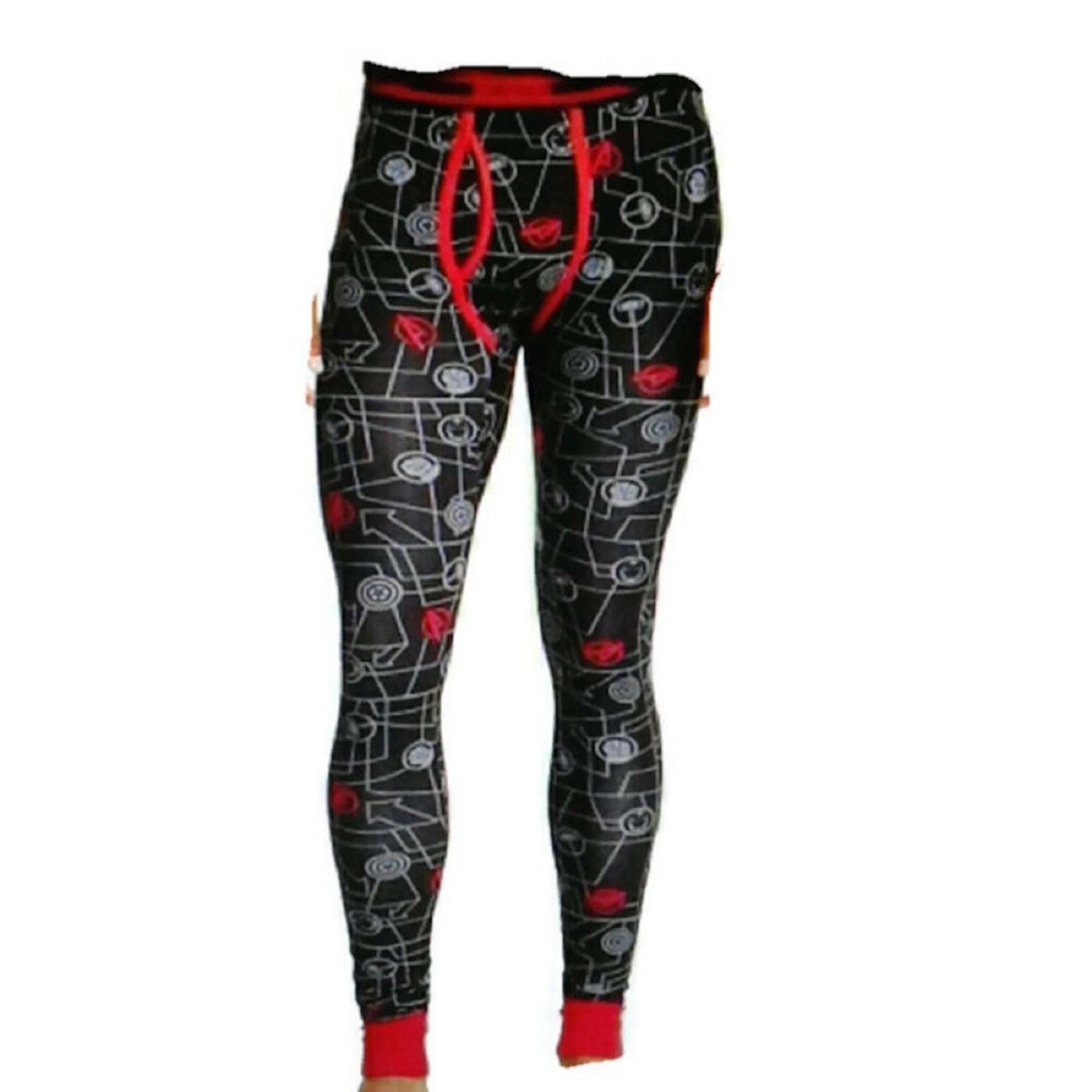 Marvel Avengers Cool Johns Long Underwear S 28 30 Small NEW Lounge Sleep Pants