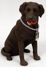 LABRADOR RETRIEVER LAB (CHOCOLATE) MY DOG Figurine Statue Pet Lovers Gif... - $31.50