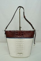 NWT! Brahmin Quinn Leather Shoulder Bag in Daydream Montgomery - $279.00