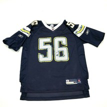 Vintage Reebok Shawne Merriman San Diego Chargers Football Jersey Jeune ... - $23.03