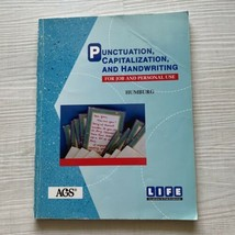 Punctuation, Capitalization, and Handwriting for Job and Personal Use So... - $8.91