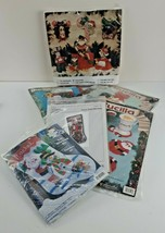 5 Mixed Brand Bucilla #83114 & More Christmas Stocking Card Holder Coasters - $55.58