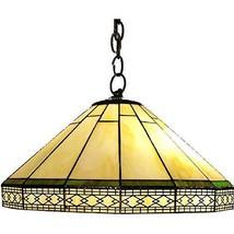Warehouse of Tiffany P16257 Tiffany-Style Roman Hanging Lamp Pendant, Ye... - $159.94