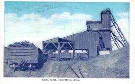 Coal Mine Mining Henryetta Oklahoma postcard - $6.93