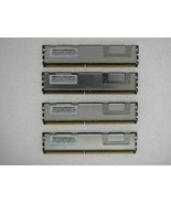16GB 4X4GB KIT DELL FBDIMM PowerEdge 2900 M600 2950 III 2900 R900 RAM MEM - $65.09