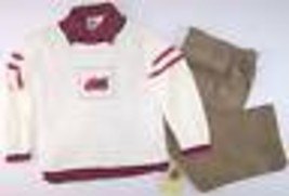 NWT Good Lad Boy's 3 Pc Holiday Truck Sweater, Shirt & Cords Outfit Set,... - $15.99