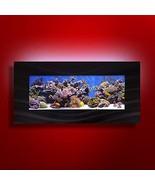 Aussie Aquarium AA-Skyline-BBLACK 2.0 Wall Mounted Aquarium, Brushed Black - $237.51