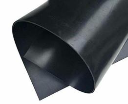 "Neoprene Rubber Sheet, Rolls, Strips 1/16"" .062"" Thick x 18"" Wide x 36"" Long Sol image 1"