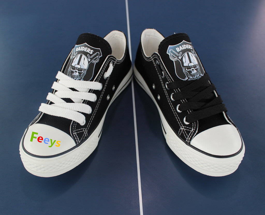 3e344b5add02 raiders shoes women converse style raiders sneakers oakland fans birthday  gifts