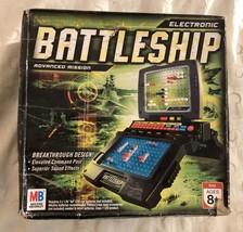 2005 Milton Bradley Electronic Talking Battleship Advanced Mission  - $99.95