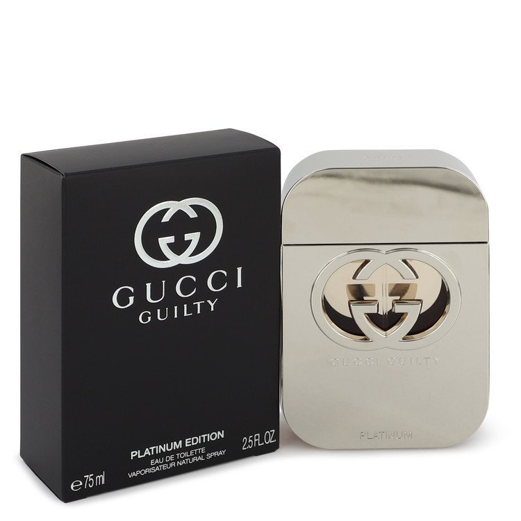 Gucci Guilty Platinum 2.5 Oz Eau De Toilette Spray
