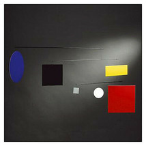 Guggenheim (Mondrian) Circle-Square Mobile, Bauhause-style, by Flensted - $164.50