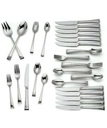 Lenox Urbane 50 Piece 18/10 Stainless Flatware Set Service for 6 New In Box - $99.90