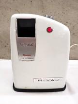 Rival  Ice O Mat Electric Ice Crusher Model 800B - $37.50