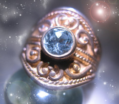 HAUNTED RING ALEXANDRIA'S THE QUEEN OF TIME GOLDEN ROYAL COLLECTION MAGICK - $444.44