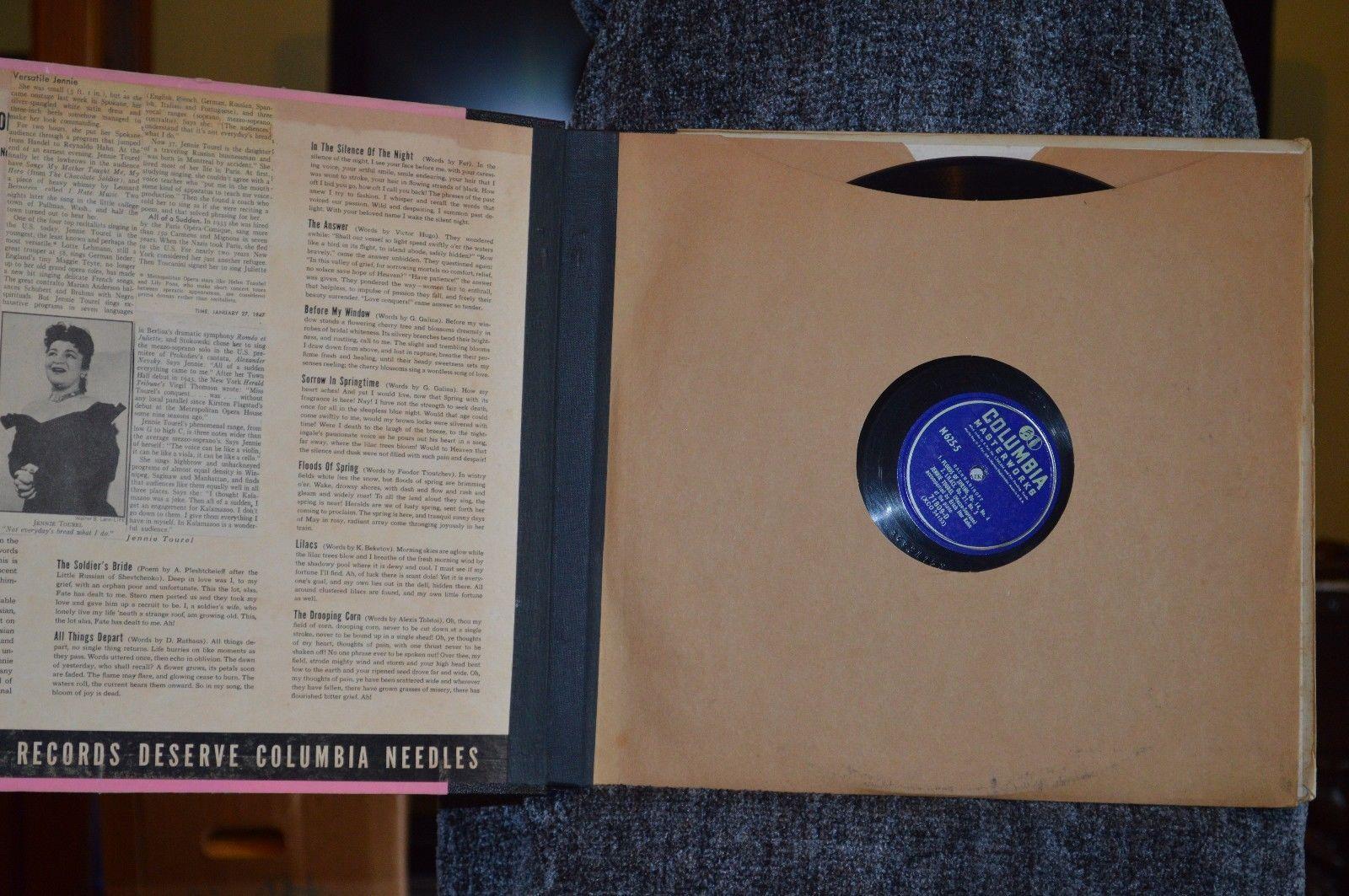 Jennie Tourel, Songs of rachmaninoff, Vinyl set
