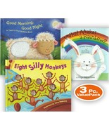 Lot of 3 - Toddler Reading Books Touch and Feel Children's Book Child Co... - $16.80