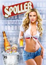 Sexy Spoller Beer Ad   2.5 x 3.5  Fridge Magnet - $3.99