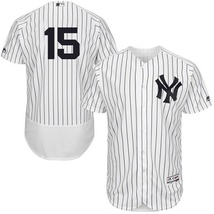 New  Men's New York Yankees #15 Thurman Munson White Flexbase Baseball J... - €33,12 EUR