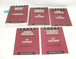 2003 Chrysler Pt Cruiser Service Manual Set Good Used Condition #20 - $75.19