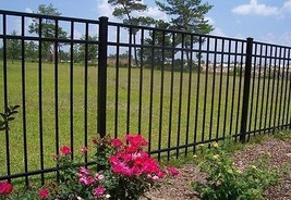 "ALUMINUM  FENCE 54 inch x 6ft ASSEMBLED PANEL Pool Code ""Read item detai... - $62.00"