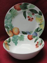 Studio Nova China - Orchard Jewels - Round Serving Bowl & Platter - $38.95