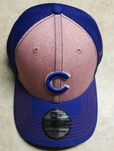 Chicago Cubs New Era Pink/Royal Mother's Day 39Thirty Fitted Hat S/M SIZE - $5.77