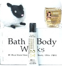 Bath & Body Works Vanilla Mint Lip Gloss, Vanilla Coco Pocketbac, Sheep ... - $23.27