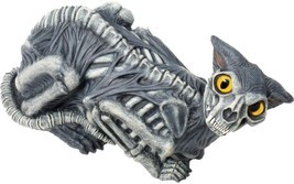 "Zombie Cat Prop 14"" Skeleton Bones Haunted House Spooky Scary Halloween ... - $807,89 MXN"