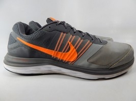 Nike Dual Fusion X Size US 13 M (D) EU 47.5 Men's Running Shoes Grey 709558-002