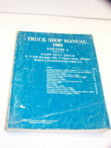 1989 Ford E F150 F250 F350 Super Duty Bronco Body Chassis Electrical Manual - $35.99