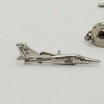 Vintage USAF Air Force Fighter Jet Plane Lapel Tie Tack Military Pin - £7.01 GBP