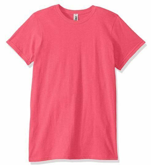 Marky G Apparel Kids' Big Boys' Fine Jersey T-Shirt- Hot Pink- Size M