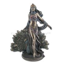 Hera & Peacock Statue - Greek Mythology - Magnificent - Ships Immediatly !! - $42.56