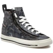 Diesel Womens Expo-Zip W Y01751 Sneakers Black UK 5 - $98.94