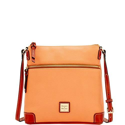 Dooney & Bourke Pebble Leather Crossbody Apricot