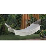 Comfortable Portable Cotton Indoor-Outdoor Rope Hammock Patio Tree Bed - $49.50