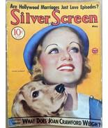 May 1934 SILVER SCREEN Carole LOMBARD Joan CRAWFORD Hollywood Magazine D... - $28.71